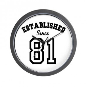 established_since_1981_wall_clock